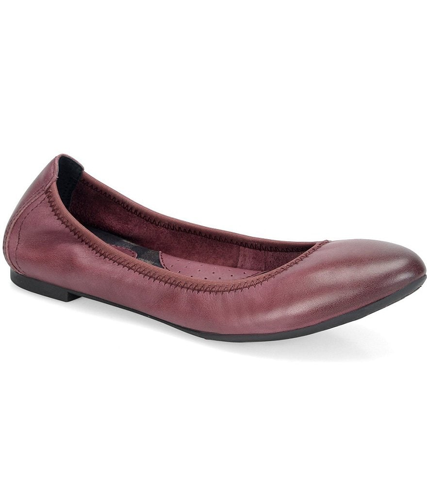 Born Rozalee Leather Slip-On Flat