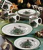 Color:Green - Image 1 - Spode Christmas Tree 12-Piece Serving Set
