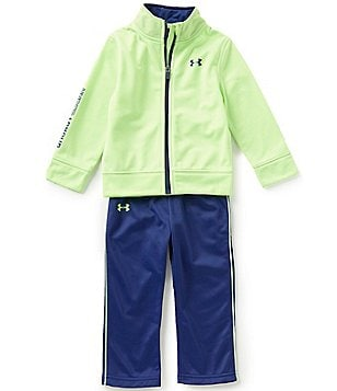 Under Armour Little Girls 2T-6X Teamster Track Jacket and Pants Set