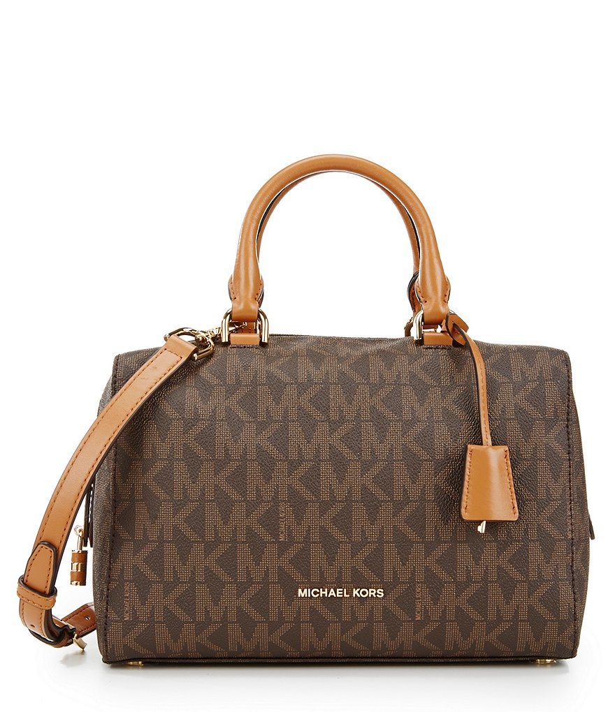 MICHAEL Michael Kors Signature Kirby Medium Satchel