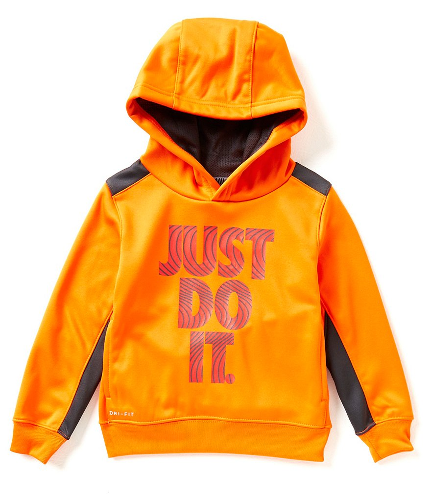 Nike Little Boys 2T-7 Graphic Therma Pullover Hoodie