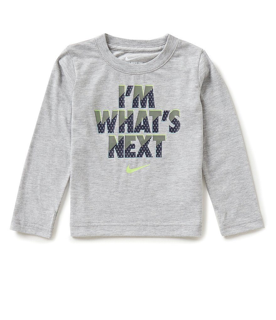 Nike Little Boys 2T-7 I´m What´s Next Long-Sleeve Shirt