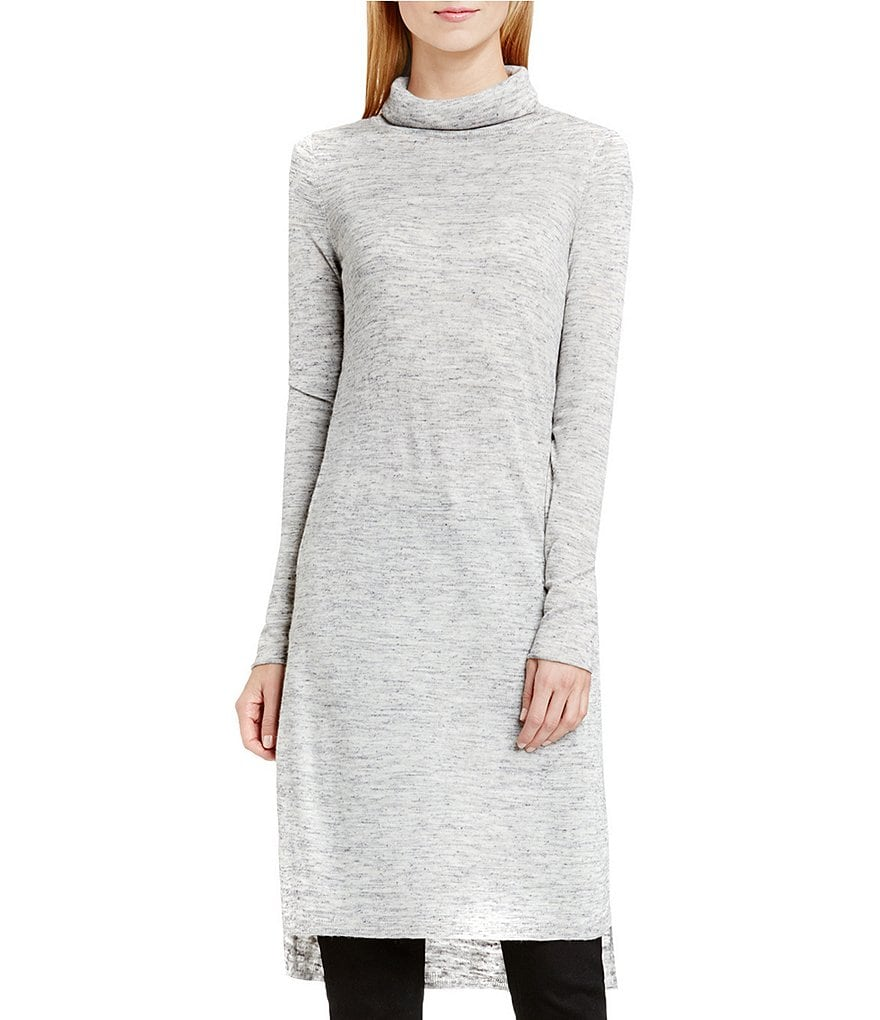 Two By Vince Camuto Marled Linen Long Tunic