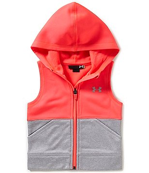 Under Armour Little Girls 2T-6X Two-Tone Vest