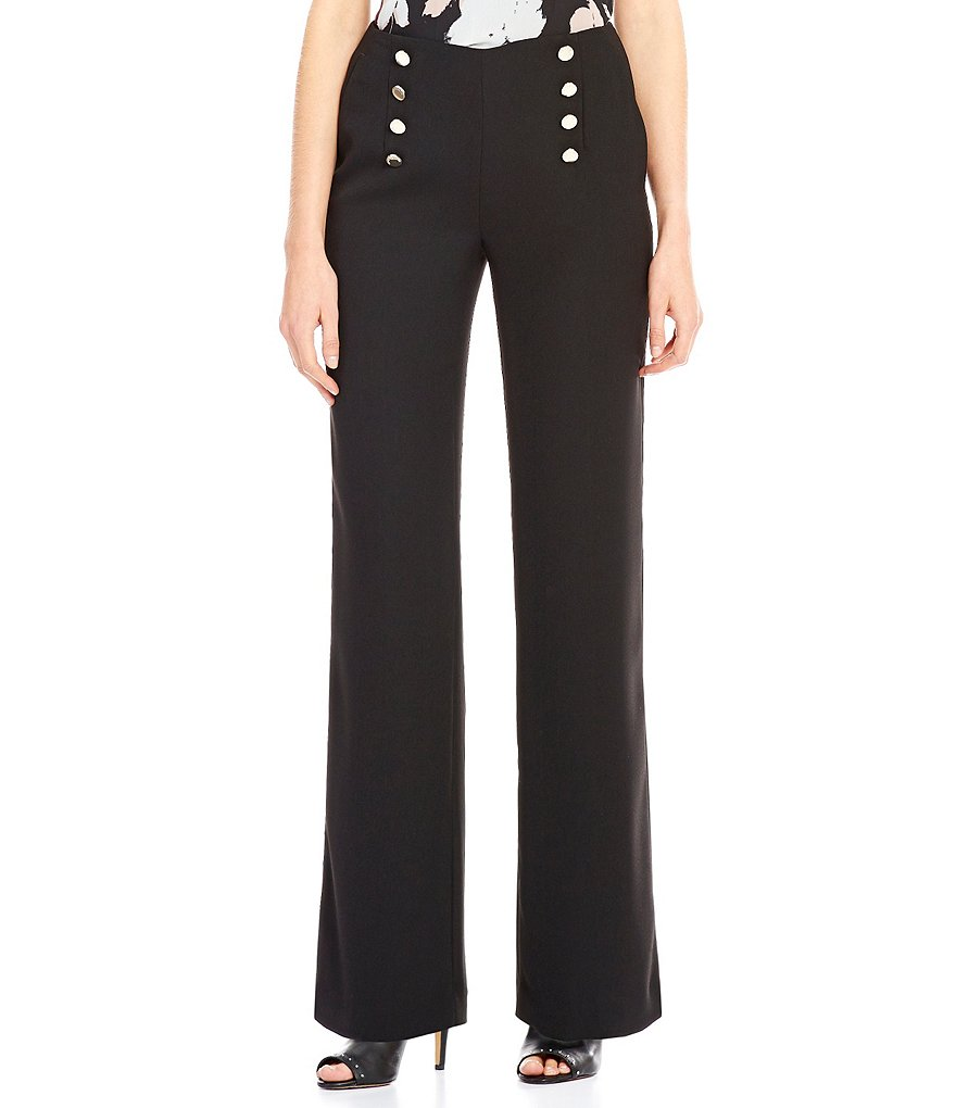 Vince Camuto Wide Leg Sailor Trouser Pant