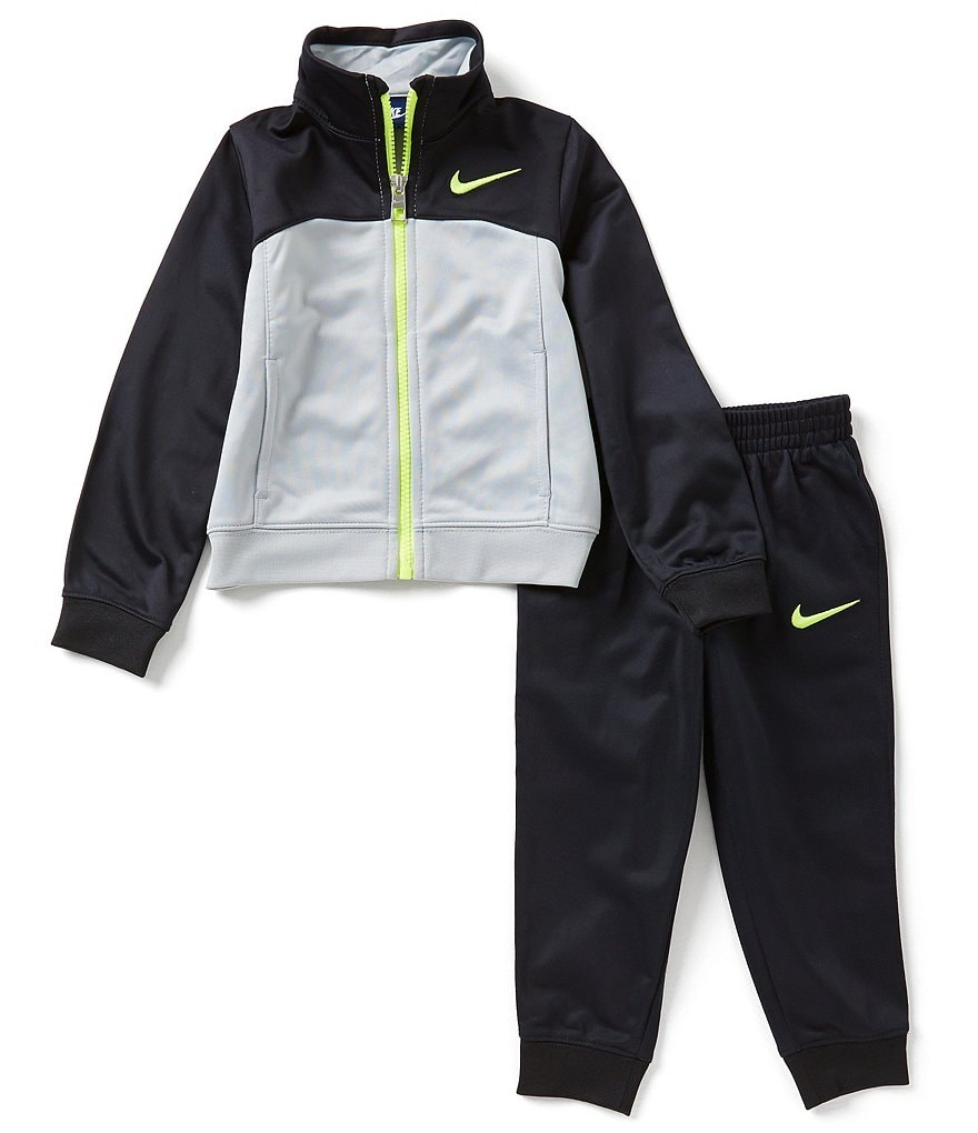 Nike Little Boys 2T-7 Tricot Track Suit