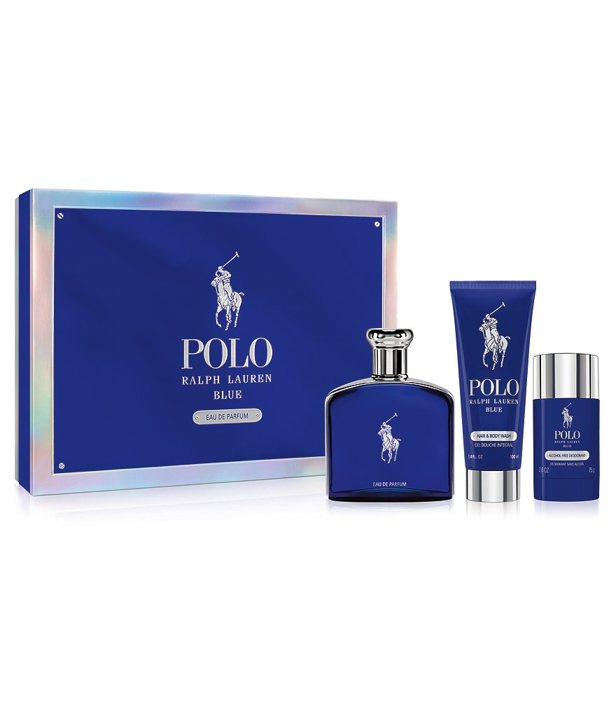 Ralph Lauren Polo Blue Eau de Parfum Holiday Gift Set