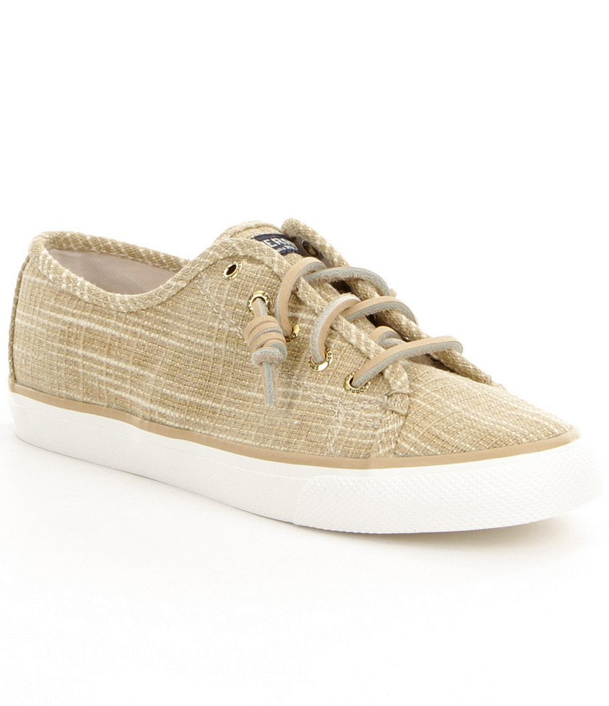 Sperry Seacoast Sparkle Canvas Sneakers