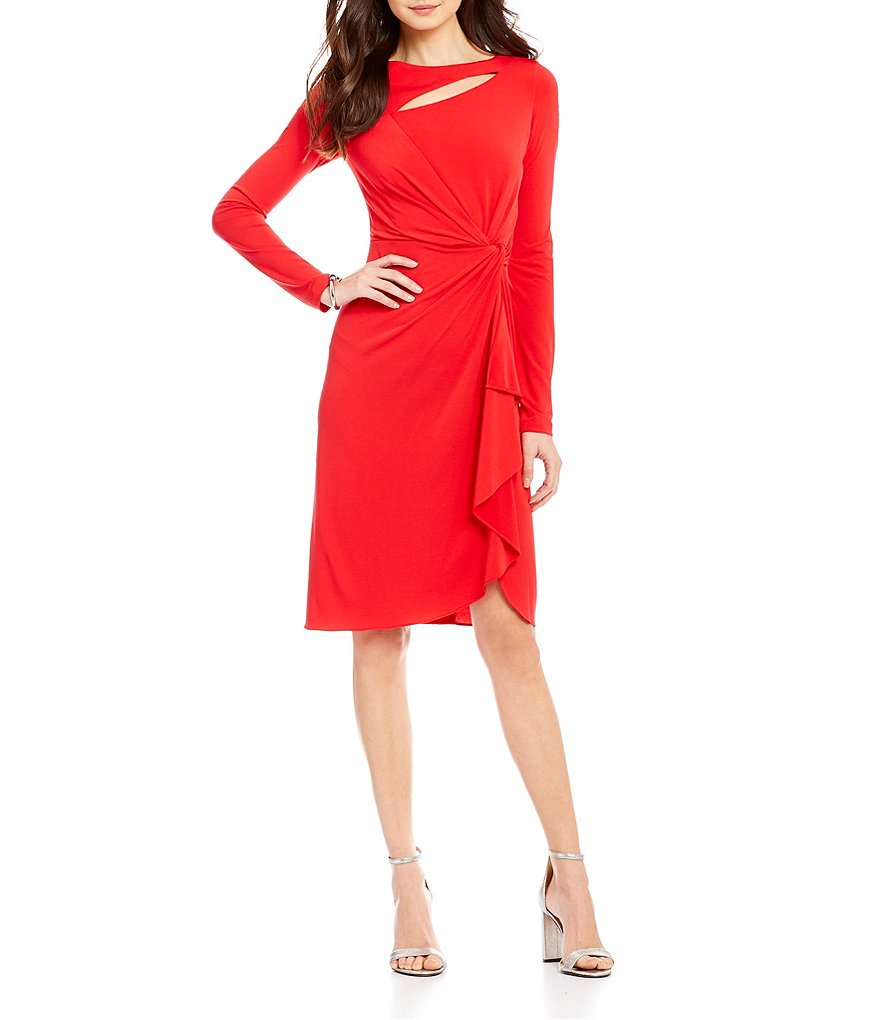 CATHERINE Catherine Malandrino Gertie Faux-Wrap Dress