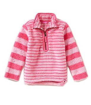 Joules Little Girls 3-6 1/4 Zip Pullover Sweater