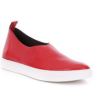 Kenneth Cole New York Kathy Stretch Leather Slip-On Sneakers