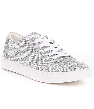 Kenneth Cole Reaction Kam-Era 2 Glitter Lace-Up Sneakers