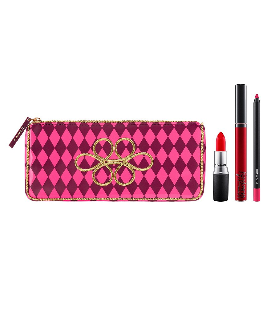 MAC Nutcracker Sweet Red Lip Bag Set