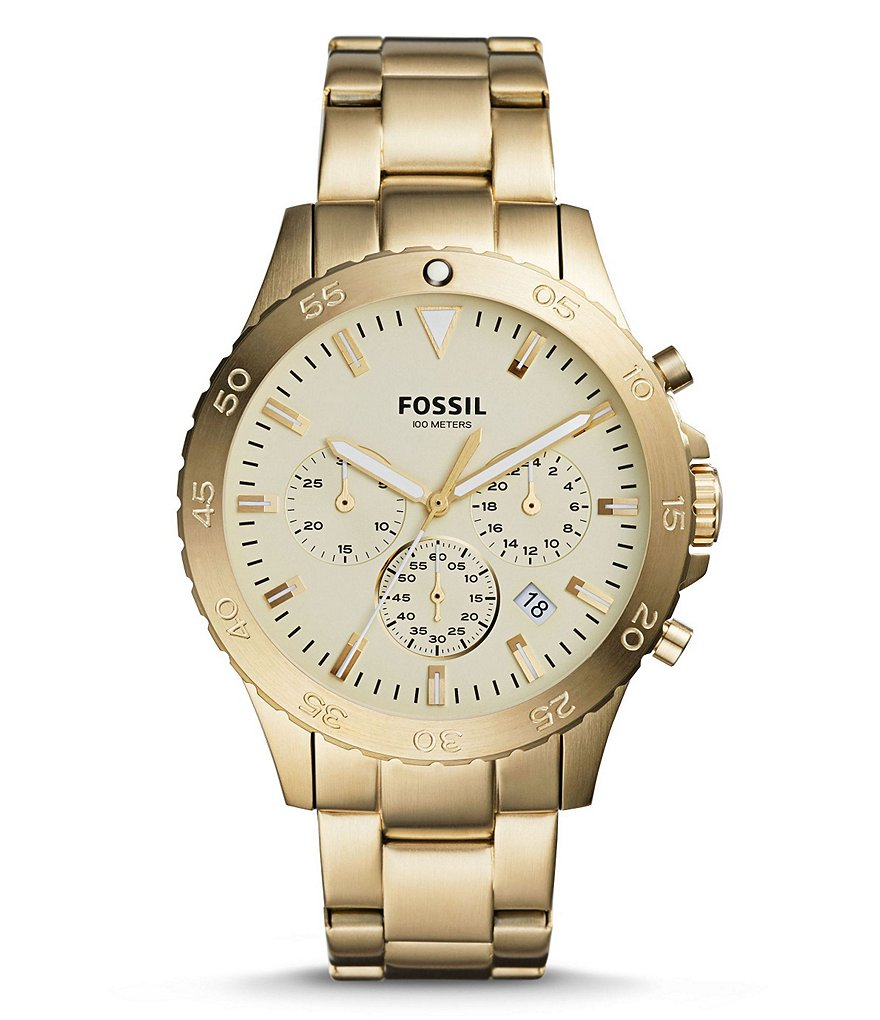 Fossil Crewmaster Sport Chronograph Bracelet Watch