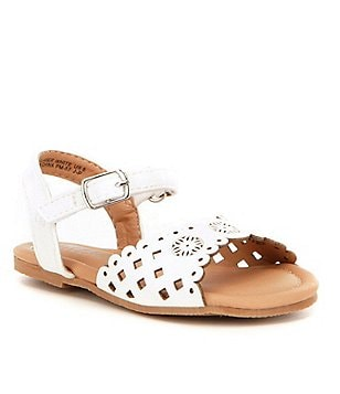 Kenneth Cole Reaction Girls´ Daylo Laser-Cut Sandals