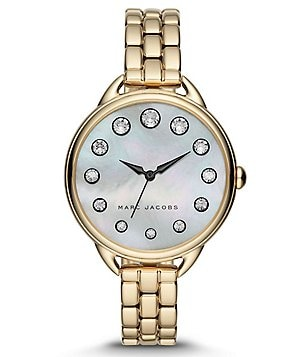 Marc Jacobs Betty Mother-of-Pearl Analog Bracelet Watch