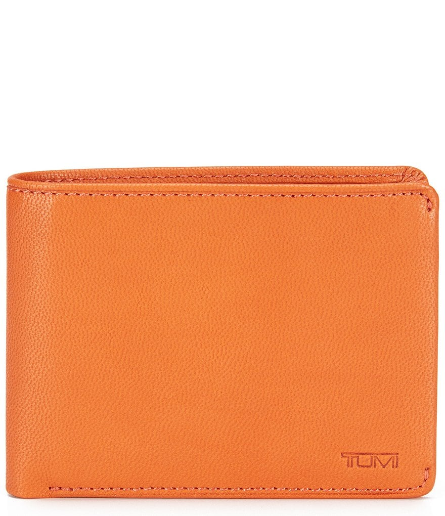 Tumi ID Lock Chambers Double Billfold With ID