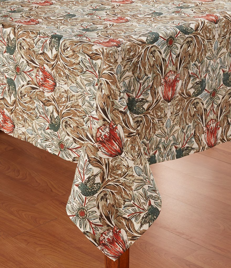 Southern Living Acanthus Tablecloth