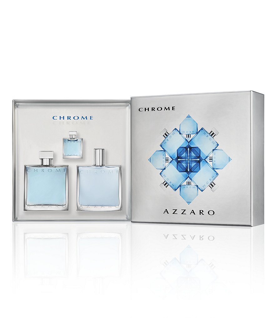 Azzaro Chrome Iconic Holiday Gift Set