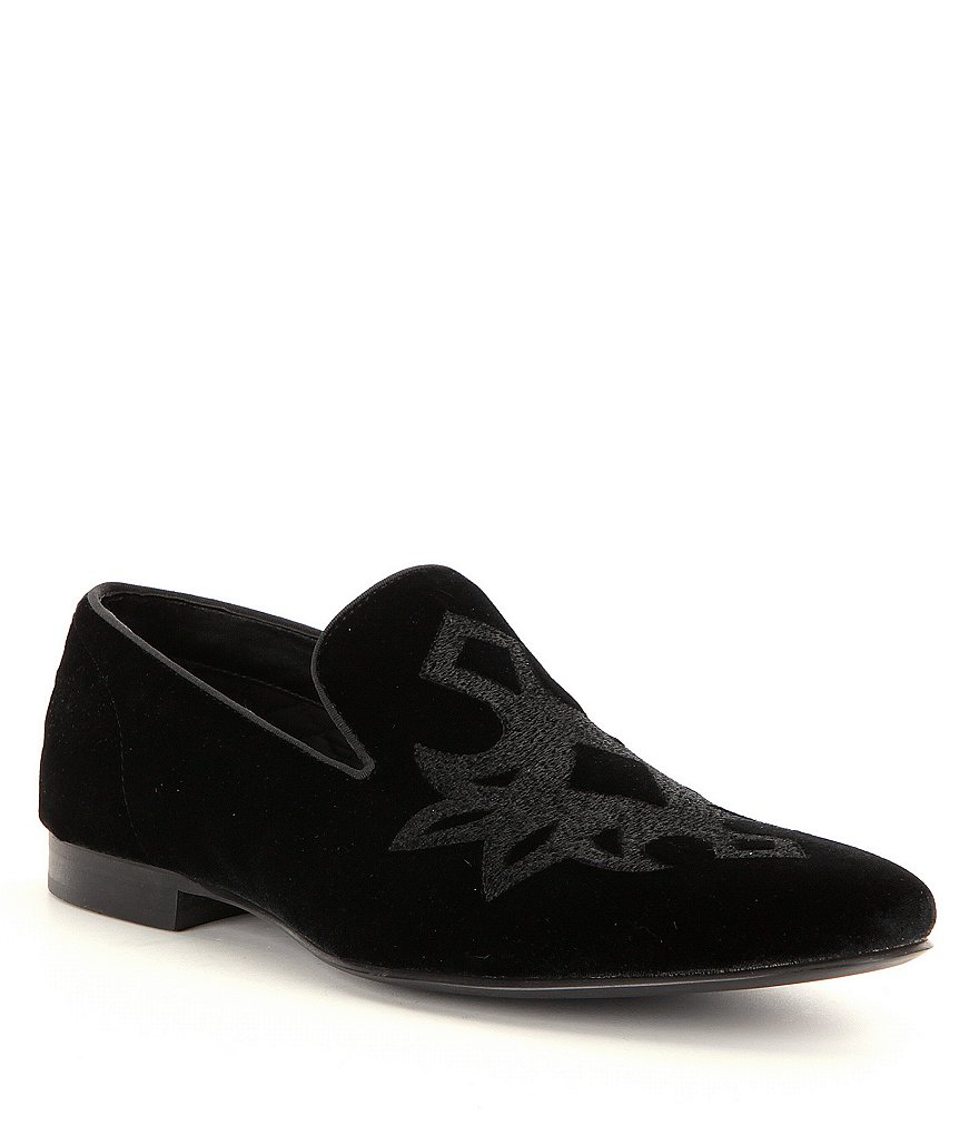 Steve Madden Men´s Lorax Velvet Detailed Slip-On Slippers