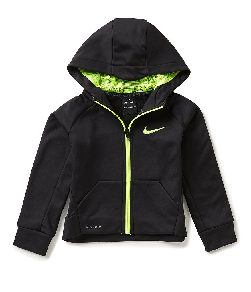 Nike Little Boys 2T-7 Therma-FIT Fleece Hoodie