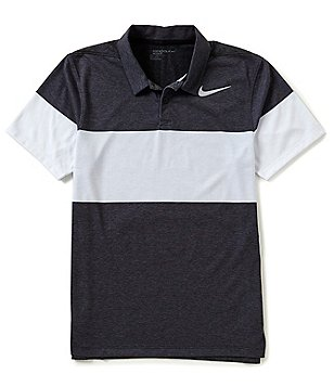 Nike Golf Transition Striped Modern-Fit Dri-FIT Polo Shirt