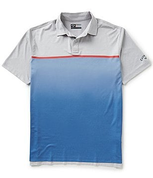 Callaway Heathered Block Polo Shirt