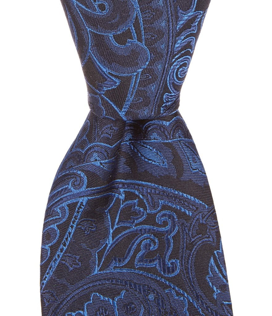 Cremieux Paisley Light Narrow Silk Tie