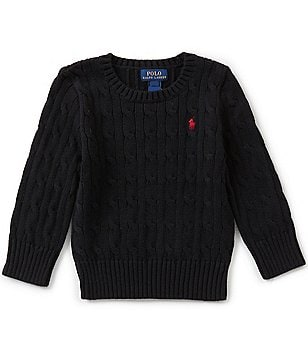 Ralph Lauren Childrenswear Little Boys 2T-7 Cable-Knit Sweater