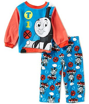 AME Thomas the Train Little Boys 2T-4T Printed Top & Pants Pajama Set