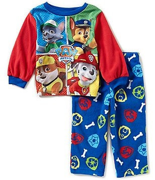 AME Paw Patrol Little Boys 2T-4T Printed Top and Pants Pajama Set
