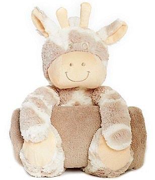 Elegant Baby Giraffe Huggie Blanket