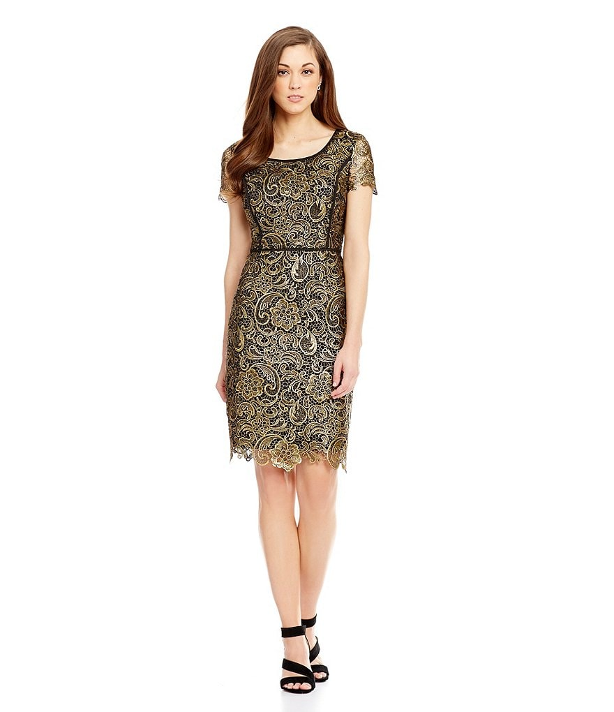 Antonio Melani Halle Lace Sheath Dress