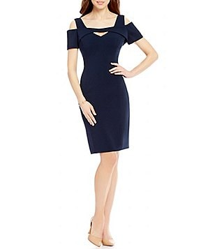 Antonio Melani Hadley Cold-Shoulder Sheath Dress