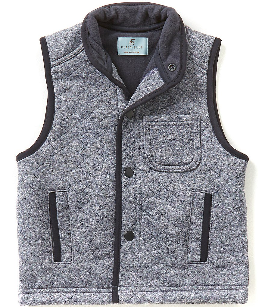 Class Club Little Boys 2T-7 Quilted Vest