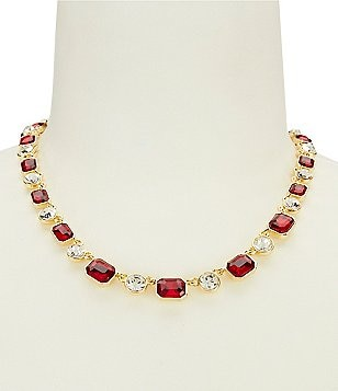 Anne Klein Stone Collar Necklace