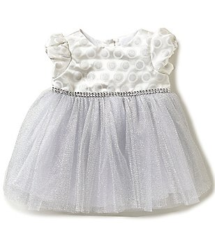 Sweet Heart Rose Baby Girls Newborn-24 Months Cap-Sleeve Dress