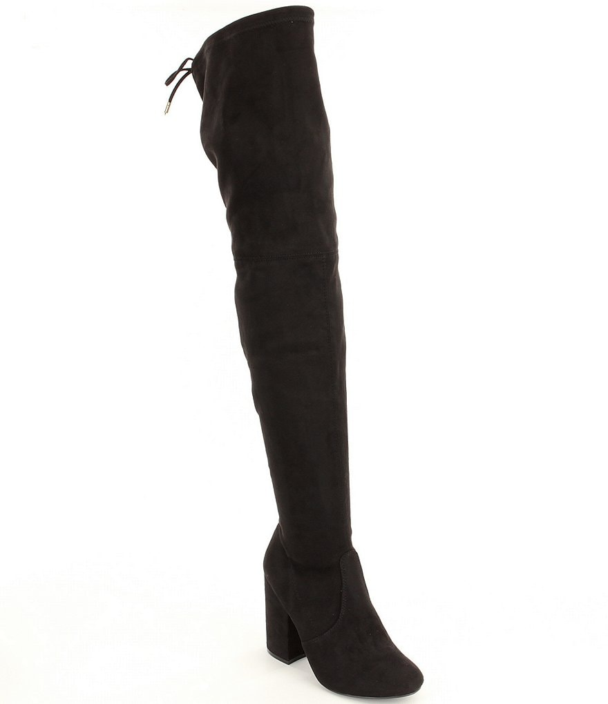 Steve Madden Norri Microsuede Over the Knee Boots