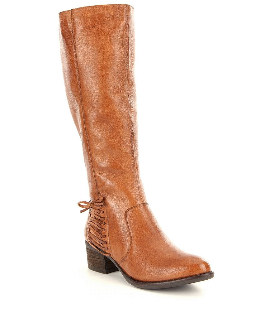 Steve Madden Lonnny Side Stitch Detail Riding Boots
