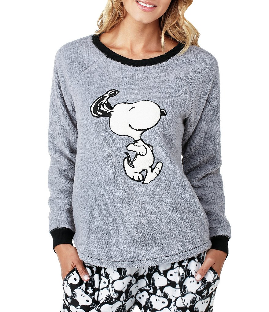Peanuts Snoopy Microfleece Sleep Top