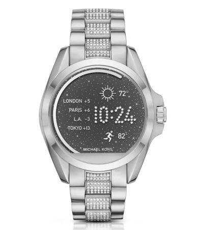 Michael Kors Access Bradshaw Pavé Bracelet Smart Watch ...