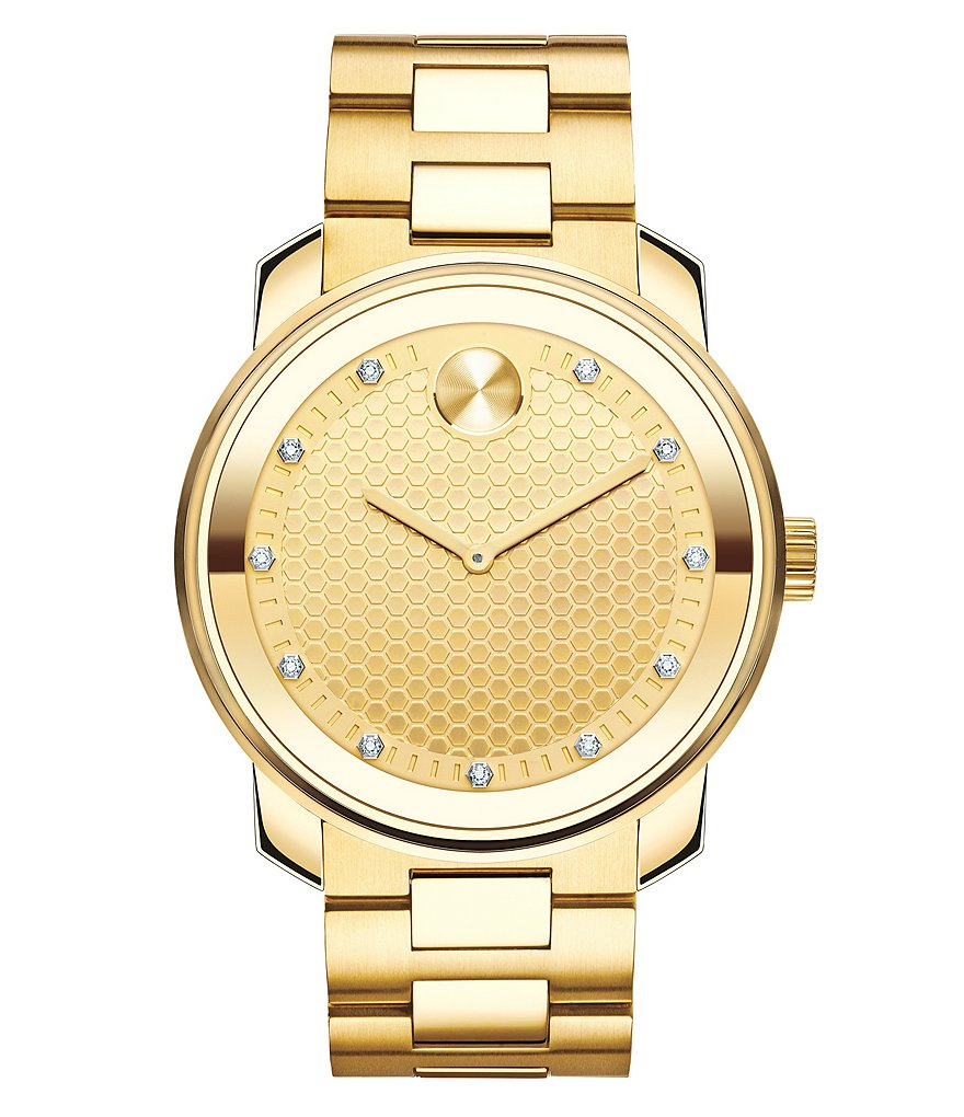 Movado Bold Honeycomb Analog Bracelet Watch