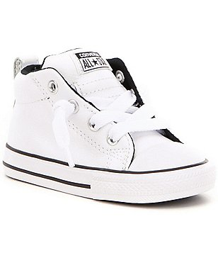Converse Boy´s All Star® Street Leather Lace Up Mid Top Sneaker