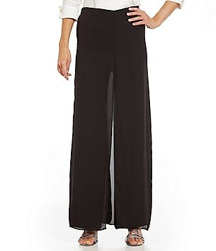 Sangria Fly Away Chiffon Evening Pant