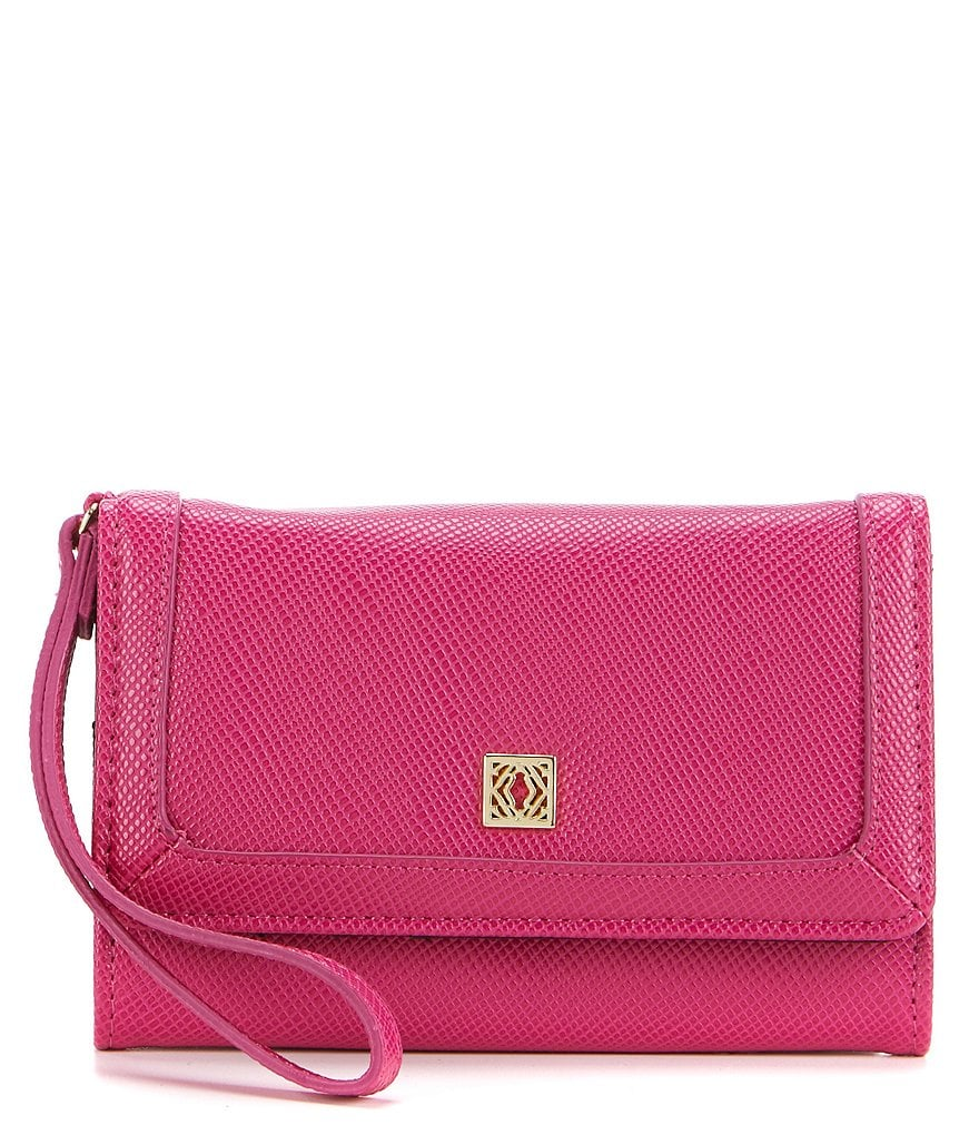 Kate Landry Crosshatch Phone Bifold Wristlet