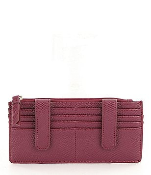 Kate Landry Crosshatch Double Credit Card Organizer