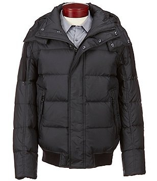 Marc New York Andrew Marc Eastham Down Bomber Jacket