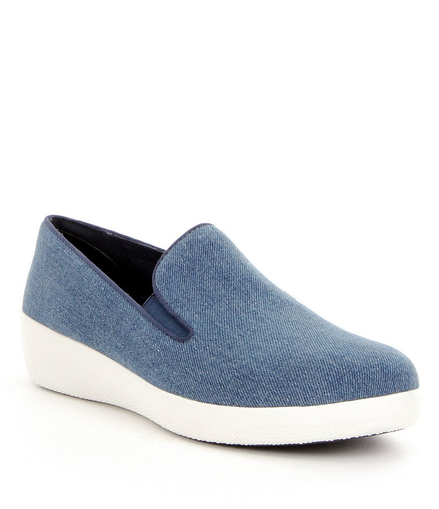 FitFlop Superskate Soft Denim Sneakers