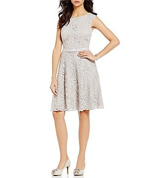 Alex Marie Bijoux A-Line Sleeveless Lace Dress