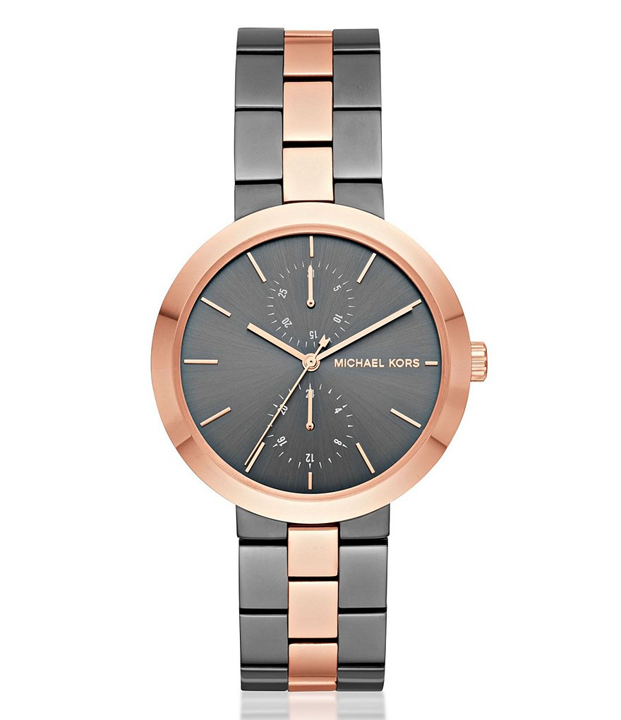 Michael Kors Garner Three-Hand Bracelet Watch